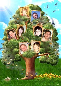 картинки родового дерева