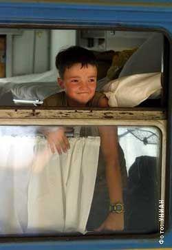 Мальчик в вагоне
